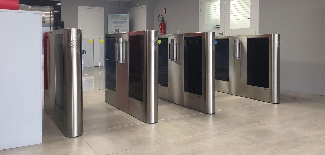 Digicon installs access control gates at new RGE Sul headquarters