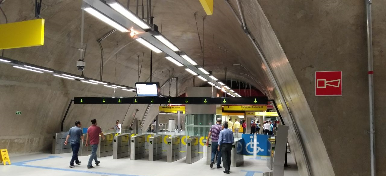 Digicon fornece bloqueios para a nova estação da Linha 4 do metrô de São Paulo