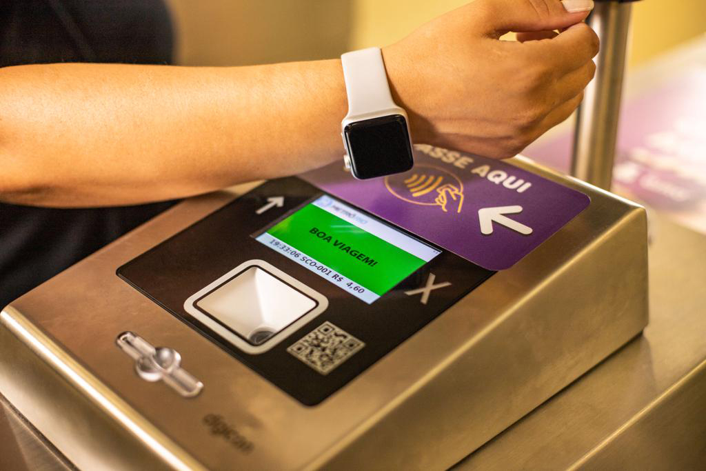 First in Brazil, MetrôRIO starts to operate with digital payment in turnstiles, thanks to Digicon's technology.