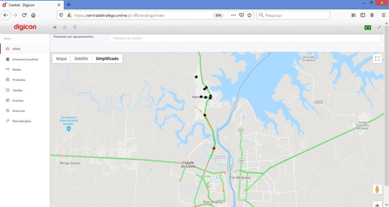 Digicon instala novo Sistema de Controle de Tráfego no Paraguai.