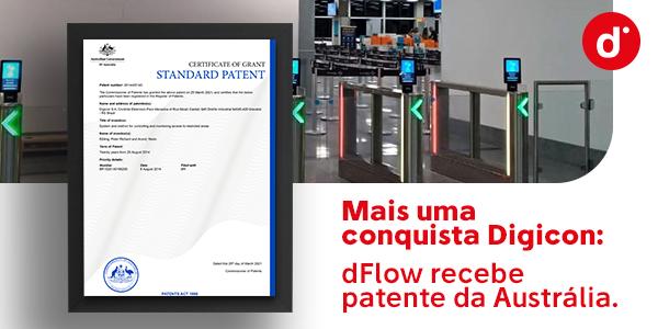 Austrália concede carta-patente de invenção para o dFlow
