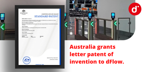 Australia grants letter patent of invention to dFlow