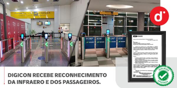Digicon recebe atestado de capacidade técnica da Infraero