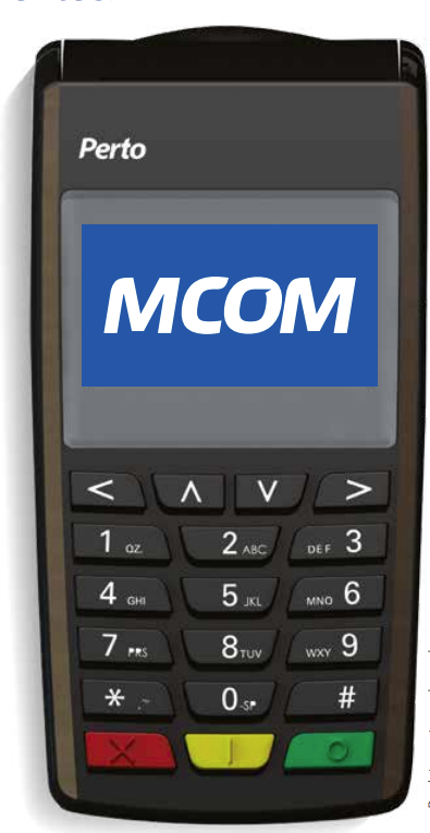 MCOM: multi-function terminal makes customers' days easier