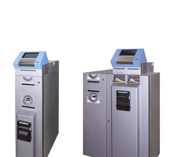 Tesoureiro Reciclador de moedas – TRM