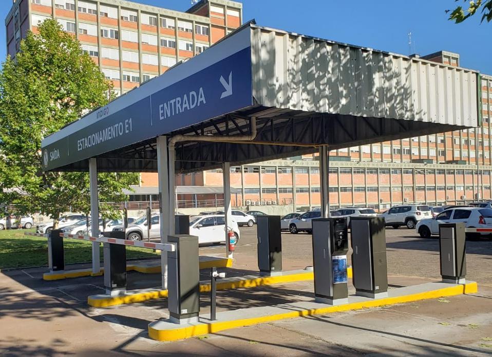 Perto instala Per2Park na Universidade Ulbra, em Canoas/RS.